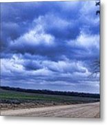 And The Thunder Rolls Metal Print by Jan Amiss Photography