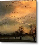 And They Flew Away Metal Print