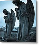 Angels In Prayer Metal Print by Amy Cicconi