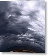 Angry Sky Metal Print