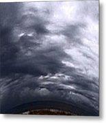 Angry Sky Metal Print by Garren Zanker