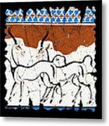 Antelope Of Akrotiri Metal Print