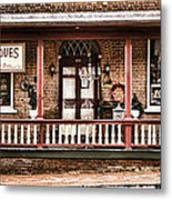 Antiques Bought And Sold Metal Print by Heather Applegate