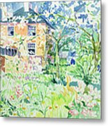 Apple Blossom Farm Metal Print