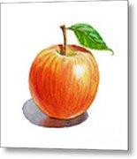 Artz Vitamins Series An Apple Metal Print