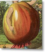 Apple Sauce Metal Print