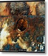 Art Work 206 Ship Rust Metal Print