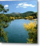 Autumn At Lynx Lake Metal Print by Kurt Van Wagner
