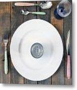 Bachelor's Dinner Metal Print by Joana Kruse