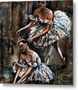 Ballerina Metal Print by Nancy Bradley