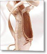Ballet Shoe Metal Print by Kitty Ellis