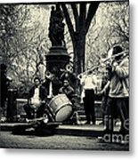 Band On Union Square New York City Metal Print