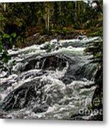 Baranof River Metal Print