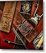 Barber - Barber Tools Of The Trade Metal Print