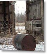 Barn #40 Metal Print by Todd Sherlock