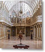 Baroque Library  Metal Print