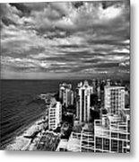 Beach Hotels San Juan Puerto Rico Metal Print by Amy Cicconi