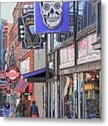 Beale Walk Metal Print by Suzanne Barber