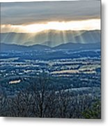 Beaming March Shenandoah Metal Print by Lara Ellis