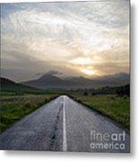Beautiful Road Metal Print by Boon Mee