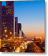 Beijing Central Business District China Metal Print by Fototrav Print