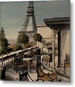 Beneath The Tower   Number 1 Metal Print by Diane Strain