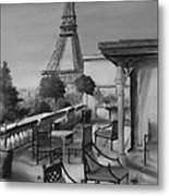 Beneath The Tower  Number 5 Metal Print by Diane Strain