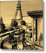 Beneath The Tower   Number 6 Metal Print by Diane Strain