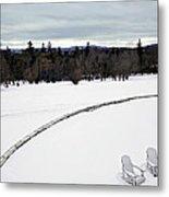 Berkshires Winter 2 - Massachusetts Metal Print
