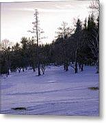 Berkshires Winter 5 - Massachusetts Metal Print