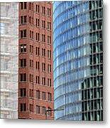 Berlin Buildings Detail Metal Print