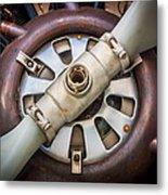 Big Motor Vintage Vintage Aircraft Metal Print