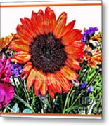 Birthday Bouquet Metal Print