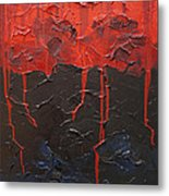 Bleeding Sky Metal Print by Sergey Bezhinets