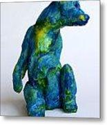 Blue Bear Metal Print by Derrick Higgins