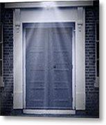 Blue Door Metal Print by Svetlana Sewell