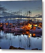 Blue Hour Metal Print by Randy Hall