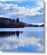 Blue Lake Metal Print by Dave Woodbridge