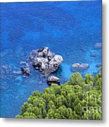 Blue Sea Metal Print by Boon Mee