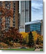 Bny Mellon From Duquesne University Campus Hdr Metal Print