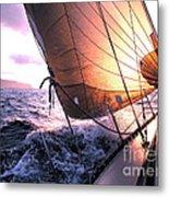 Boats Wing  Metal Print