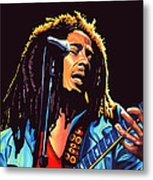 Bob Marley Metal Print by Paul Meijering