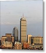 Boston Back Bay With The Prudential Tower Metal Print by Jannis Werner