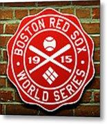 Boston Red Sox 1915 World Champions Metal Print by Stephen Stookey