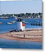 Brant Point  Metal Print by Lorena Mahoney
