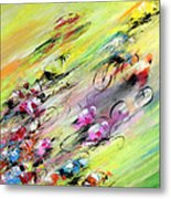 Breaking Away Metal Print