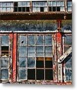 Broken Windows Metal Print by Paul Ward