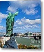 Budapest. View From Gellert Hill Metal Print by Michal Bednarek