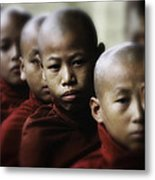 Burma Monks 2 Metal Print