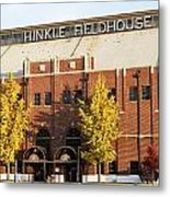 Butler Bulldogs Hinkle Fieldhouse In The Fall Metal Print